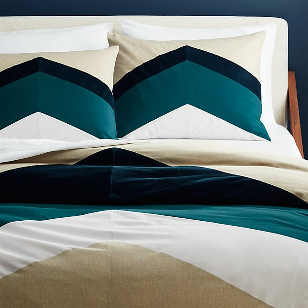 peak full/queen duvet cover