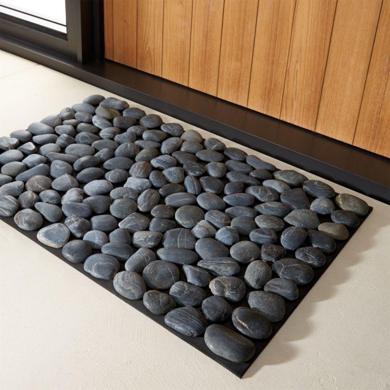 pebble mat