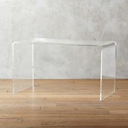 peekaboo acrylic desk