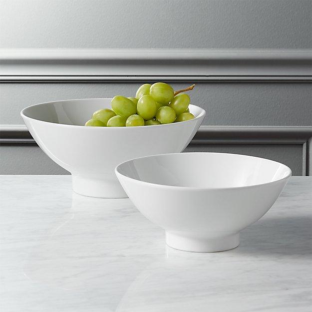 pendant serving bowls