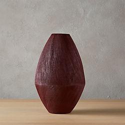 peyton red vase