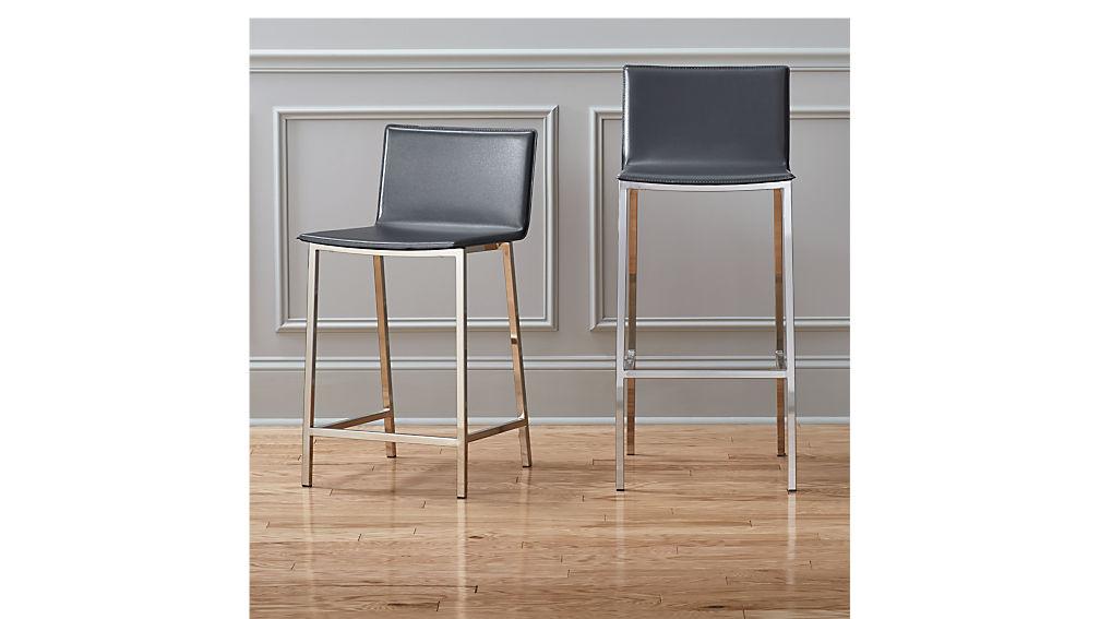 phoenix carbon bar stools CB2 : phoenix carbon bar stools from www.cb2.com size 1008 x 567 jpeg 52kB