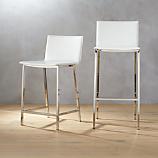 phoenix ivory bar stools