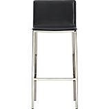 "phoenix carbon grey 30"" bar stool"