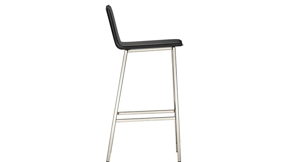 "phoenix carbon grey 30"" bar stool"