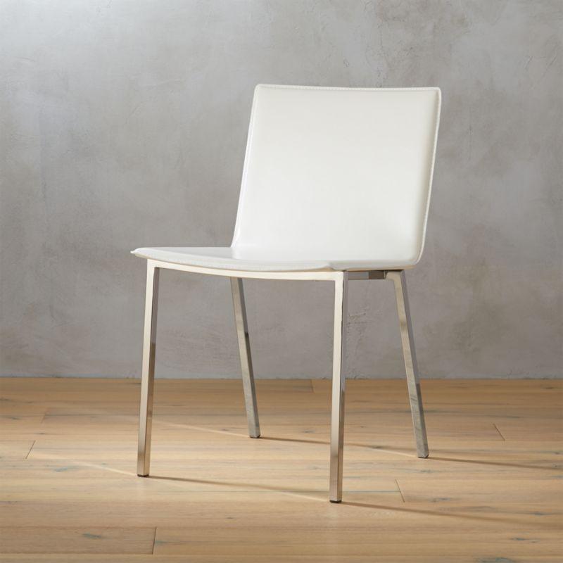 Phoenix Ivory Chair Cb2