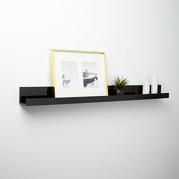 PianoShelfBlack48InchAVF16