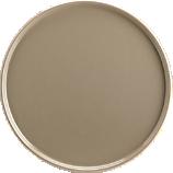 plinth taupe salad plate