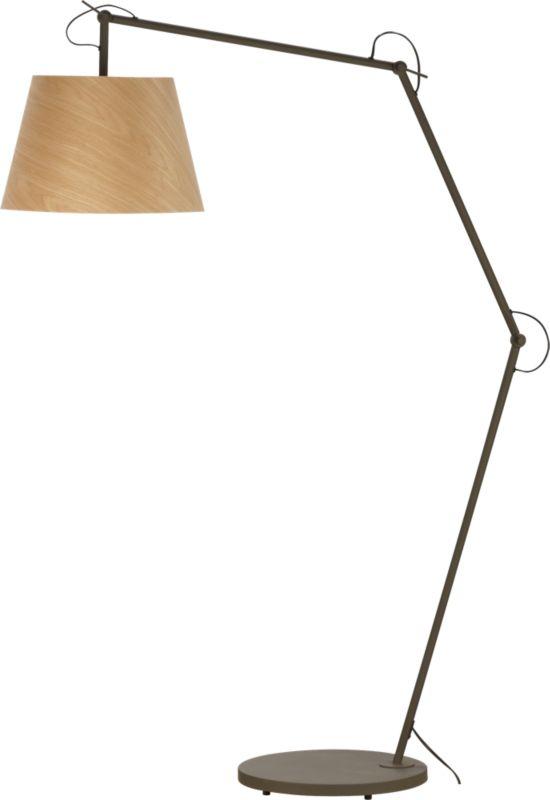 polygon floor lamp