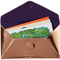 Poppin ® copper card case