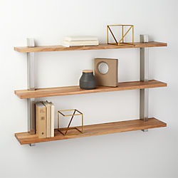 post wall shelf
