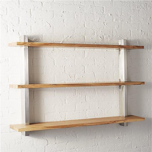 post wall shelf