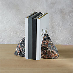 precious stone bookends set of two