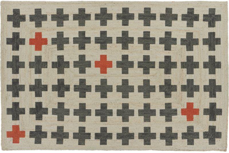 ground control jute rug 6'x9'