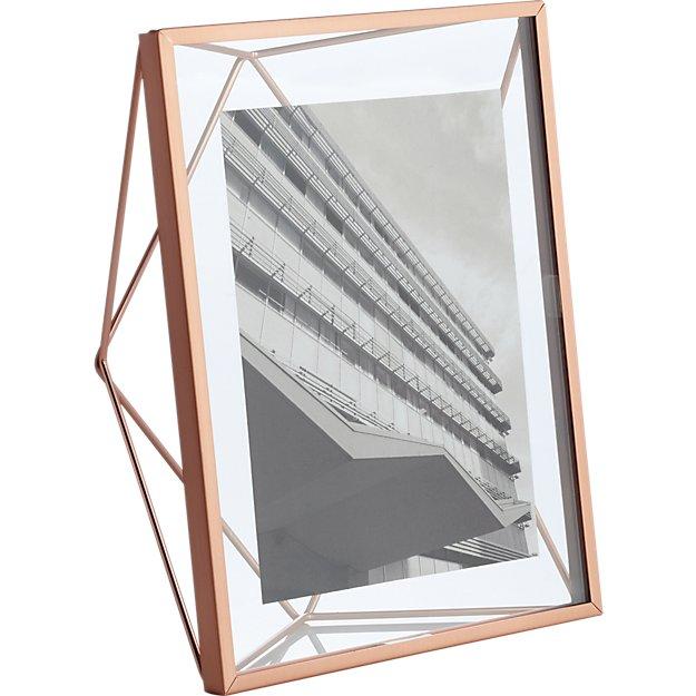 prisma copper 5x7 picture frame