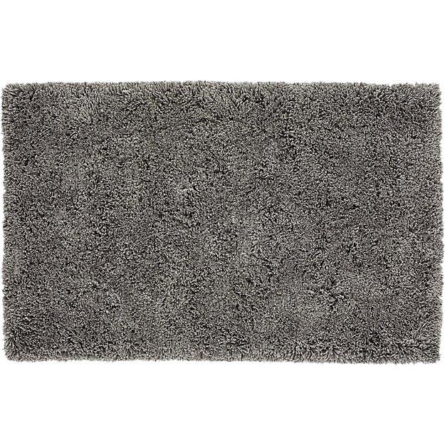 Puli Grey Shag Rug 8 39 X10 39 Cb2