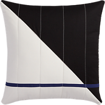 "quilted no. 101 18"" pillow"
