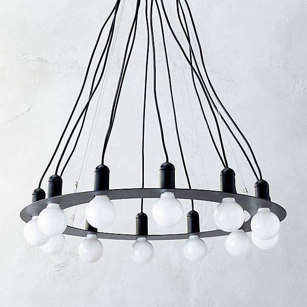 radial chandelier