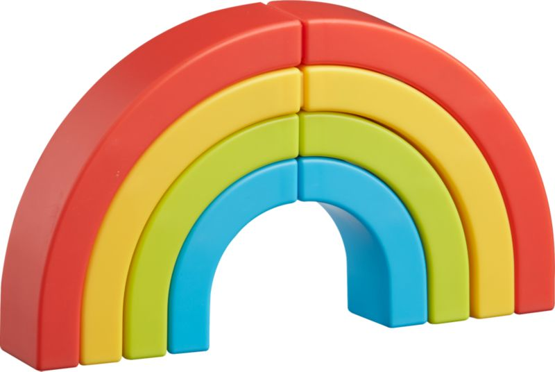 rainbow highlighters set of four
