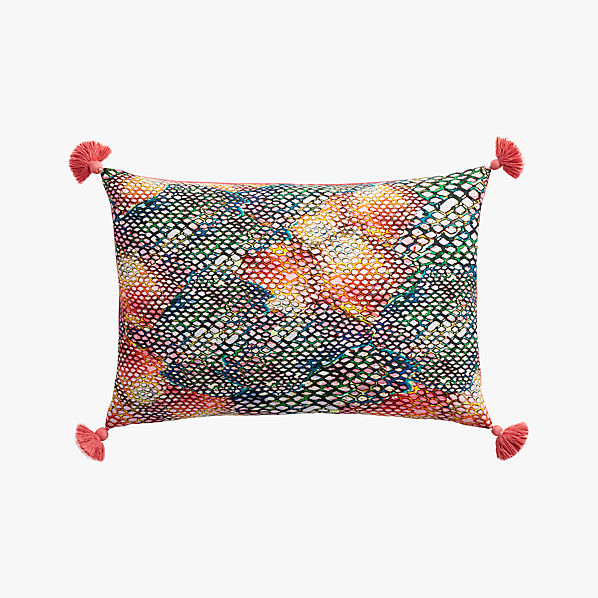 RainbowSnakePillow18x12F16