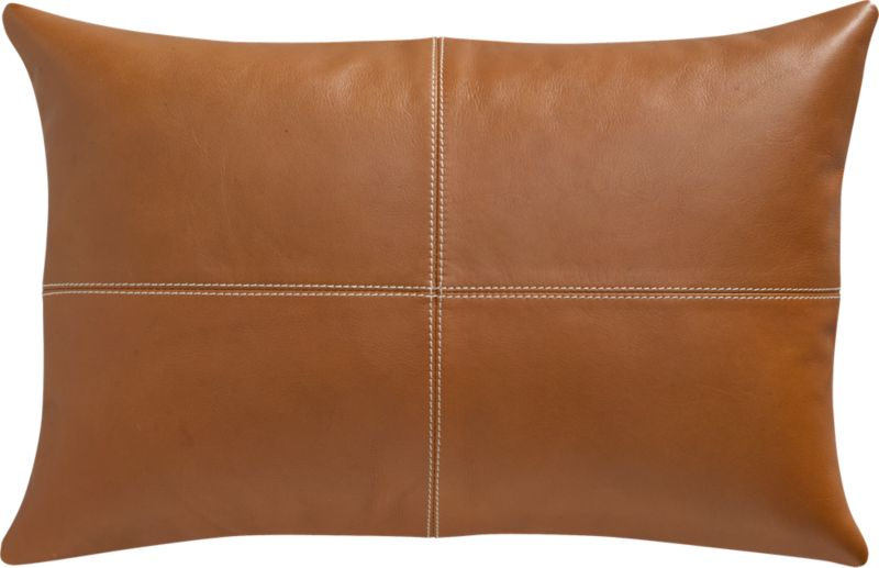 "ranch 18""x12"" pillow with feather-down insert"