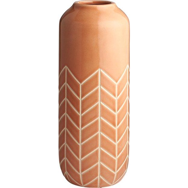range terracotta vase