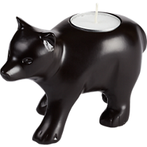 ray the bear tea light candle holder