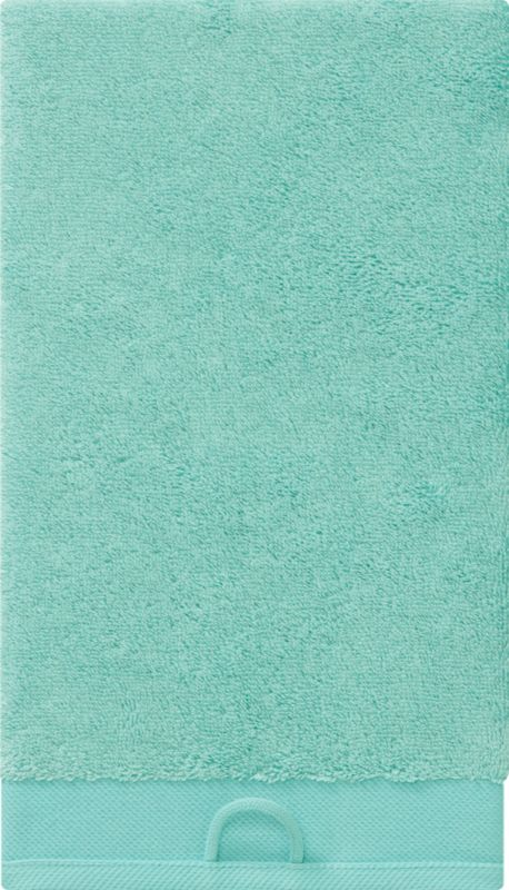 rayon bamboo aqua hand towel