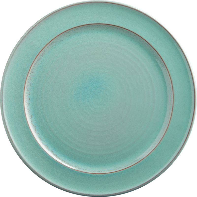 react aqua dinner plate