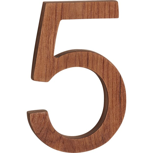 reclaimed teak house number 5