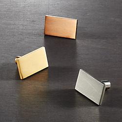 rectangle knobs