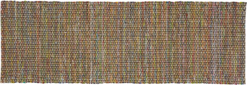recycled cotton runner 2.5'x8'
