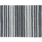 recycled leather stripe rug 8'x10'.