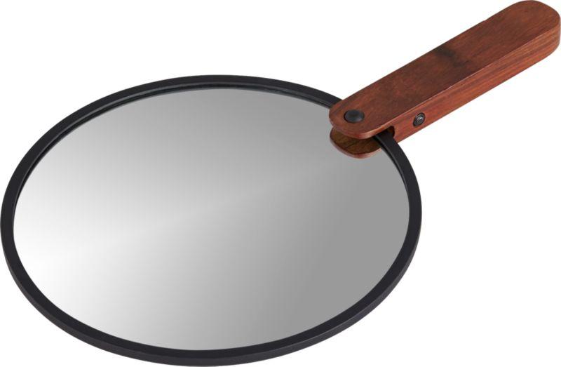 "reflection 8"" hand mirror"