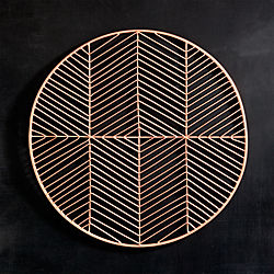 register copper placemat