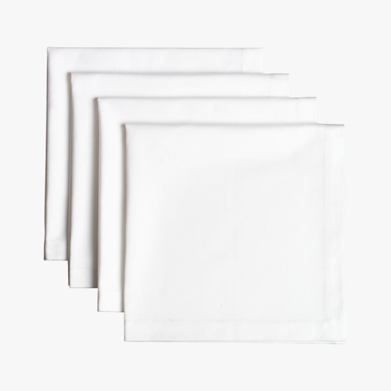 restaurant napkins set of four