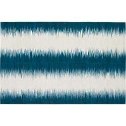 reverb blue-green rug 6'x9'