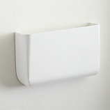 revere white wall mounted storage