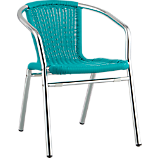 rex turquoise chair