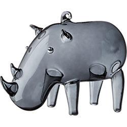 rhino smoke ornament