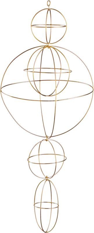 sphere hanging mobile