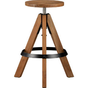 rig acacia adjustable barstool