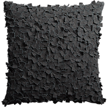 "rimple black 20"" pillow"