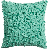 "rimple aqua 20"" pillow"