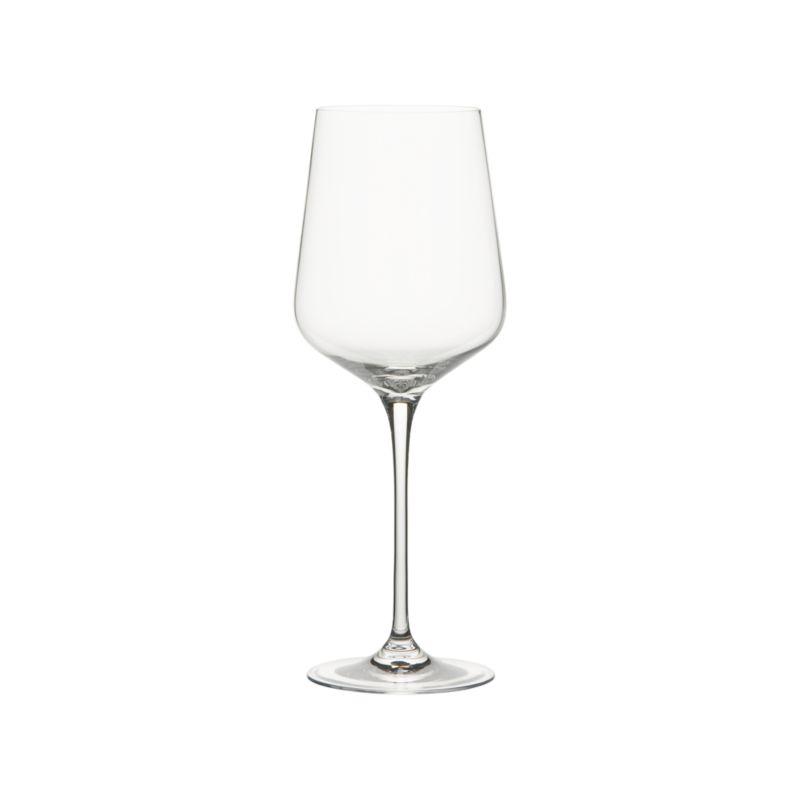 "<span class=""copyHeader"">lots of breathing room. </span> Wines open up to the idea of a bold new bowl-to-stem ratio. Oversized shape swirls large, tapers dramatically.<br /><br /><NEWTAG/><ul><li>Brilliant glass</li><li>Cut and fire-polished rim</li><li>Hand wash</li></ul>"