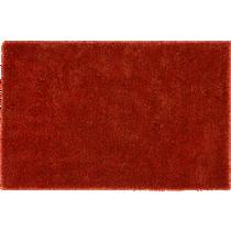 roper orange shag rug 8'x10'