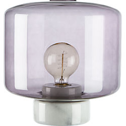 rosie smoke table lamp