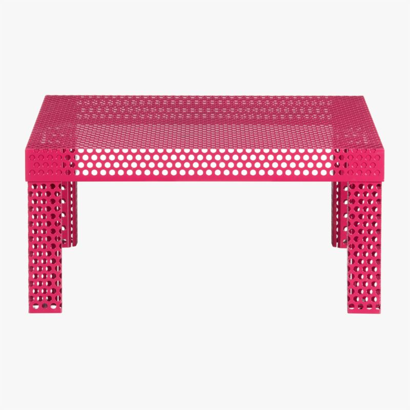 rouge coffee table