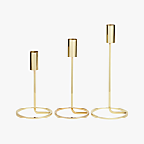3-piece roundabout candle holder set