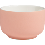 roundish pink mini bowl